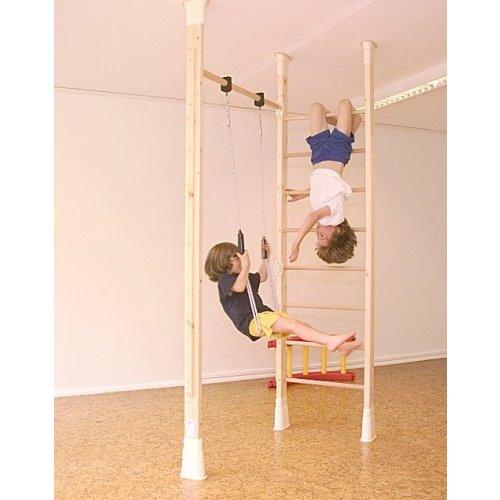 kletterdschungel holz sprossenwandset kletterger st im. Black Bedroom Furniture Sets. Home Design Ideas