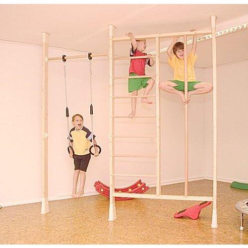 kletterdschungel holz turnwandset kletterger st im. Black Bedroom Furniture Sets. Home Design Ideas