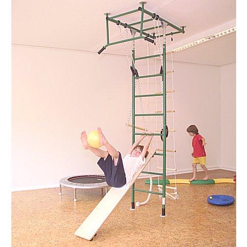 unibrett aus holz schr gbrett rutsche f r den kletterdschungel. Black Bedroom Furniture Sets. Home Design Ideas