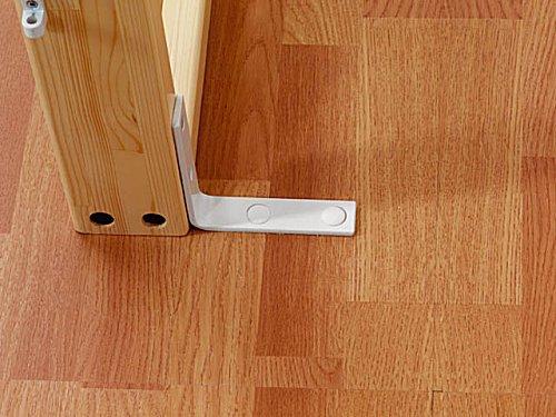 wand und bodenbefestigungs set 40 cm sprossenwand zubeh r und wandbefestigungen. Black Bedroom Furniture Sets. Home Design Ideas